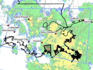Tornado Warning for Lafourche and Terrebonne Parish