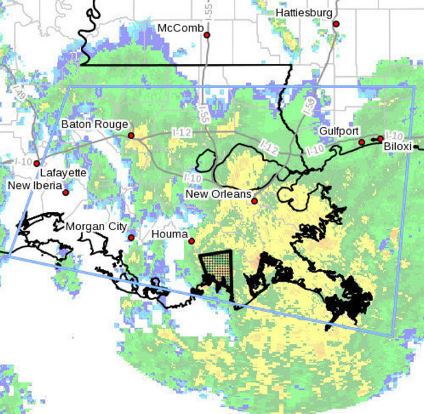Tornado Warning for Lafourche and Terrebonne Parish