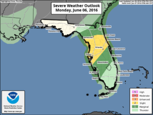 Florida Severe Weather Outlook
