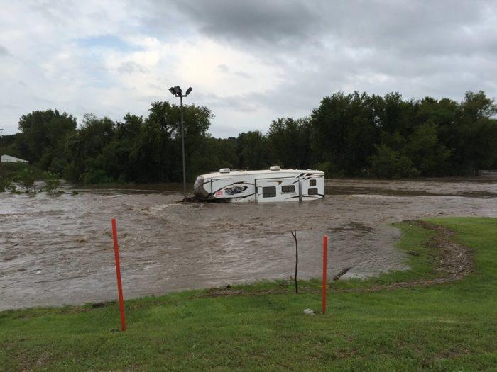 Flooding near Decorah, IA