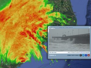 Hurricane Matthew South Carolina Zoom Radar