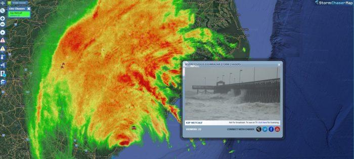 Hurricane Matthew South Carolina Zoom Radar