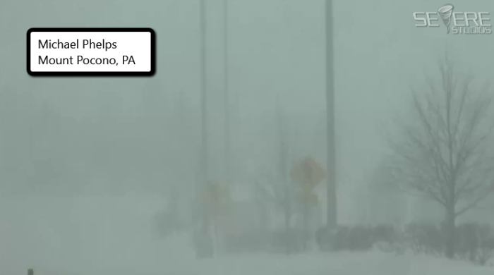 Nor'easter Whiteout Conditions