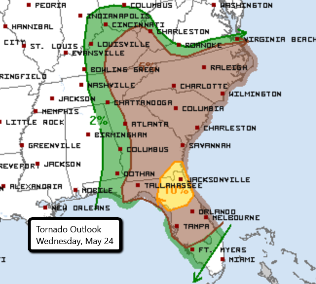 5-24 Tornado Outlook
