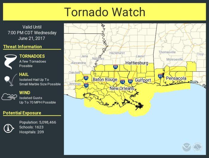 6-21 Tornado Watch