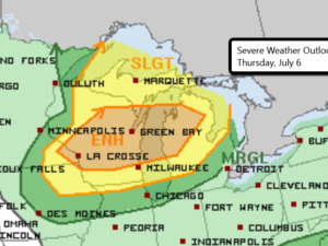 7-6 Severe Weather Outlook