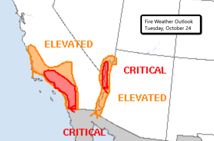 10-24 Fire Outlook