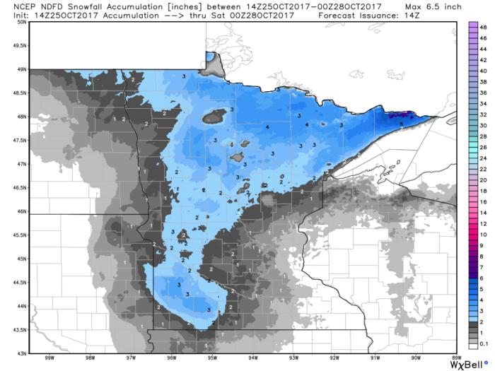 10-25 Snow Forecast