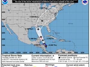 10-5 Nate Forecast Track