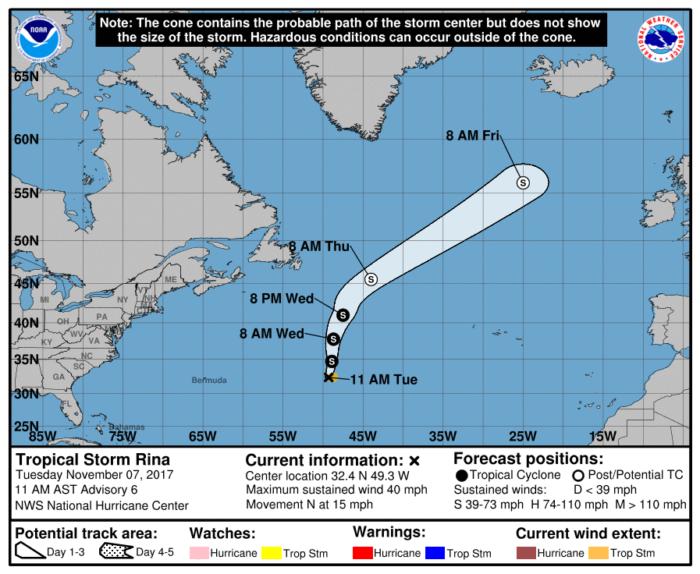 11-7 Rina Forecast Track