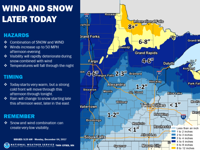 12-4 NWS Twin Cities Forecast