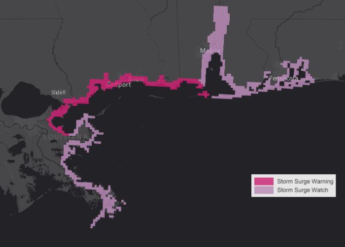 9-4 Storm Surge Map