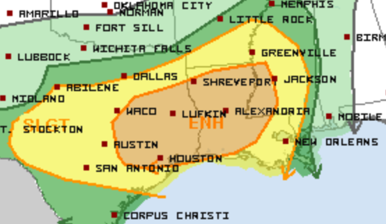 10-31 Severe Weather Outlook