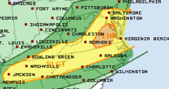 8-13 Severe Weather Outlook 2