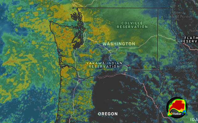 12-18 Forecast Radar 12/20 00Z