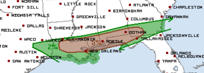 3-4 Tornado Outlook