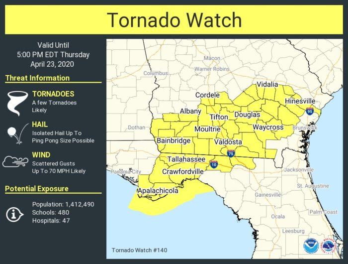 4-23 Tornado Watch