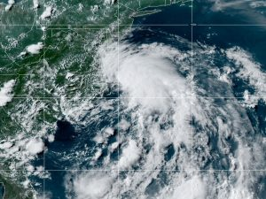 7-9 Tropical Storm Fay Satellite