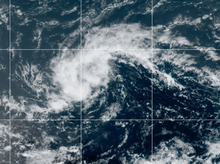 8-12 Tropical Depression 11 Satellite