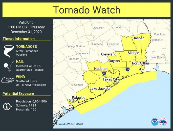 12-31 TX Tornado Watch