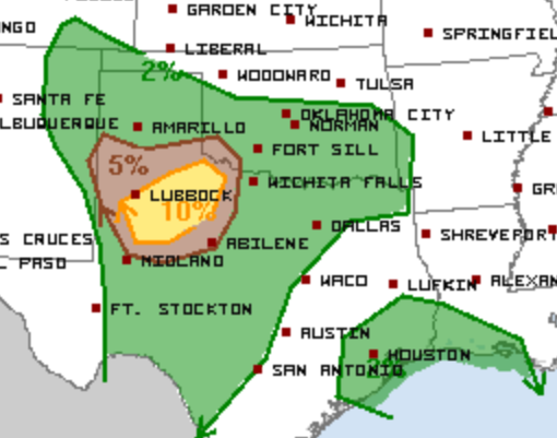 5-17 Tornado Outlook