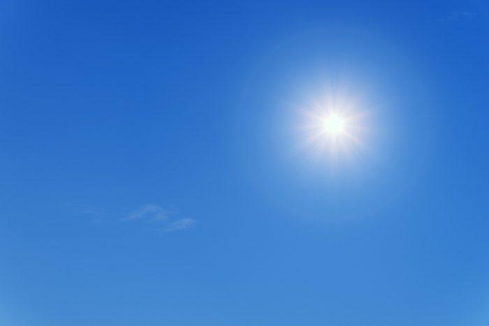 Sunshine Blue Sky