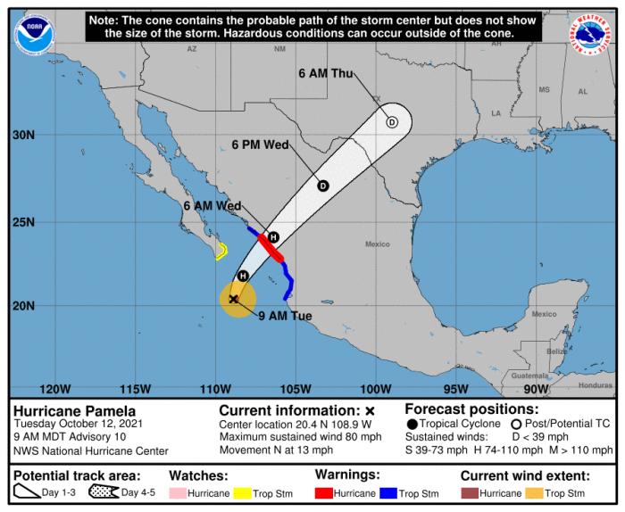 10-12-21_Pamela Forecast Track